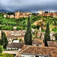 Photo taken at La Alhambra y el Generalife by Мария П. on 5/3/2013