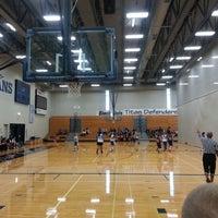 Photo taken at Papillion - La Vista South High School by Von R. on 10/6/2012