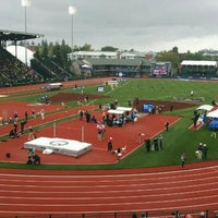 Photo taken at Hayward Field by David M. on 7/10/2016