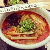 Photo taken at Santouka Ramen by Elvis A. on 6/10/2013