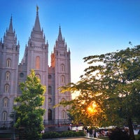 Photo taken at Temple Square by Stephen B. on 6/17/2013