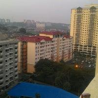 Photo taken at Petaling Indah Condominium by Syafiq S. on 9/2/2016
