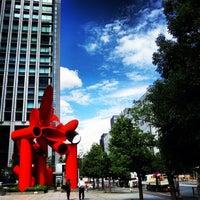 Photo taken at Tokyo Sankei Building by Shigeki O. on 9/15/2012
