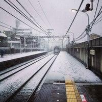 Photo taken at Yūtenji Station (TY04) by KJ on 1/14/2013
