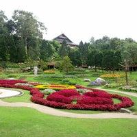 Photo taken at Doi Tung Royal Villa by Pisan C. on 10/6/2012