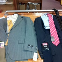 Photo taken at Karako's Mens Suits by Mike W. on 12/1/2012
