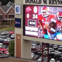 Photo taken at Donald W Reynolds Razorback Stadium by Blair on 9/15/2012