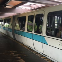 Photo taken at Monorail Teal by Guy D. on 3/28/2016