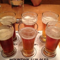 Photo taken at Mountain Sun Pub & Brewery by Robert A. on 6/13/2013