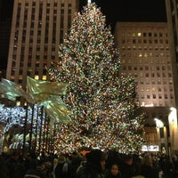 Photo taken at Rockefeller Center Christmas Tree by Diana C. on 1/6/2013