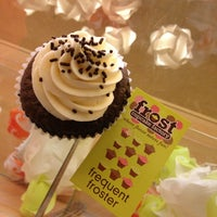 Photo taken at Frost Cupcake Factory by Jerry M. on 6/1/2013