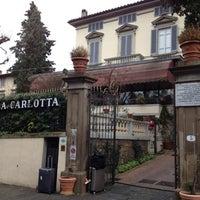 Photo taken at Villa Carlotta Hotel Florence by Maurice H. on 12/16/2012