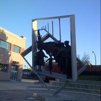Photo taken at Hyack Square / BC Spirit Square by Sun O. on 11/13/2014