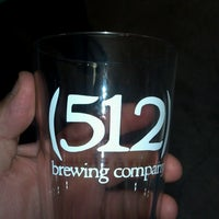 Photo taken at (512) Brewing Company by Ray R. on 4/20/2013