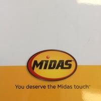 Photo taken at Midas by Kat M. on 8/24/2013