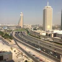 Photo taken at Fairmont Dubai by Basim W. on 10/26/2012