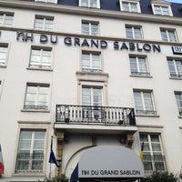 Photo taken at NH Hotel du Grand Sablon by René J. on 1/13/2013
