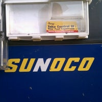 Photo taken at Sunoco by Dion H. on 1/11/2012