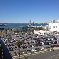 Photo taken at Embassy Suites by Hilton San Diego Bay Downtown by Kelley N. on 2/28/2013