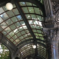 Photo taken at Pioneer Square Pergola by Kerry M. on 8/20/2013