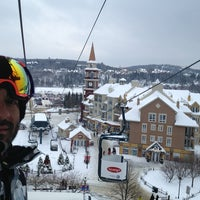 Photo taken at Station Mont Tremblant Resort by Mauricio P. on 1/8/2013