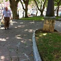 Photo taken at Plaza San Pedro de Deusto by krollian on 6/25/2014
