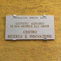 Photo taken at Fondazione Edmund Mach by Anna P. on 2/27/2014