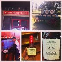 Photo taken at Maker's Mark Distillery by Ashley B. on 3/12/2013