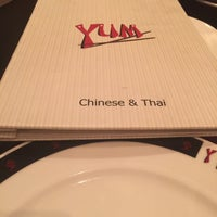 Photo taken at Yum Chinese and Thai Restaurant by Junaid Saeed U. on 6/13/2015