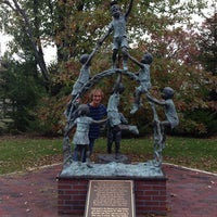Photo taken at Mountain Lake Park Statue by Steven M. on 10/10/2013