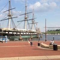 Photo taken at Inner Harbor by Steven M. on 5/29/2013