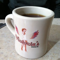Photo taken at Victoria's Diner by Chrissy M. on 2/18/2013