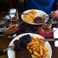 Photo taken at Hawksmoor Spitalfields by Joanna H. on 2/6/2013