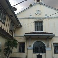Photo taken at Santuario de San Pedro Bautista Parish by Kerwin M. on 5/9/2016