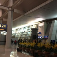 Photo taken at Gate 124 by Byoungho P. on 3/25/2013