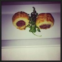 Photo taken at Trib Steakhouse by Nikki P. on 3/6/2013