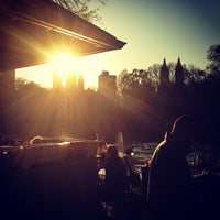 Photo taken at The Loeb Boathouse in Central Park by Price P. on 4/28/2013