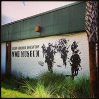 Photo taken at Camp Gordon Johnston WWII Museum by David G. on 8/10/2013