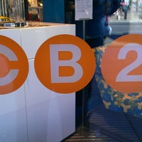 Photo taken at CB2 by Brianne B. on 10/21/2012