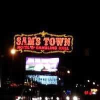 Photo taken at Sam's Town Hotel & Gambling Hall by Bethany S. on 12/29/2012
