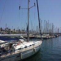 Photo taken at Port Olímpic by Txema M. on 7/22/2013