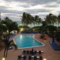 Photo taken at Four Points by Sheraton Miami Beach by Dillon K. on 11/9/2012