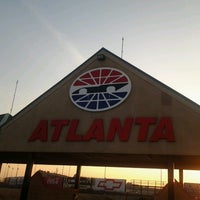 Photo taken at Atlanta Motor Speedway by Owen K. on 3/9/2013