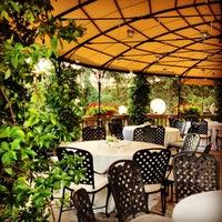 """Photo taken at Da Vittorio """"Relais Gourmand"""" by Gokce D. on 8/3/2013"""