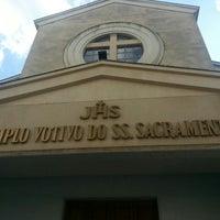 Photo taken at Templo Votivo do Santíssimo Sacramento by Adailton S. on 1/5/2016