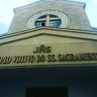 Photo taken at Templo Votivo do Santíssimo Sacramento by Adailton S. on 1/7/2016