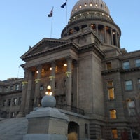 Photo taken at Idaho State Capitol by Neil C. on 11/6/2012