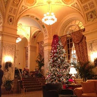 Photo taken at Hermitage Hotel by Brent U. on 12/3/2012