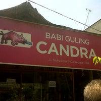 Photo taken at Babi Guling Candra by Okta L. on 11/5/2012
