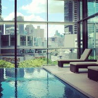 Photo taken at Crown Promenade Hotel by RoomCritic on 10/8/2012